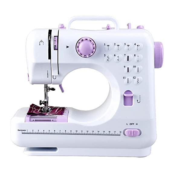 MagiDeal 12 Puntadas Mini Máquina de Coser Multifunción Herramienta de Costura Doméstica: Amazon.es: Hogar