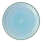 Japanese Sendan Aqua Blue 9.75'' Plate