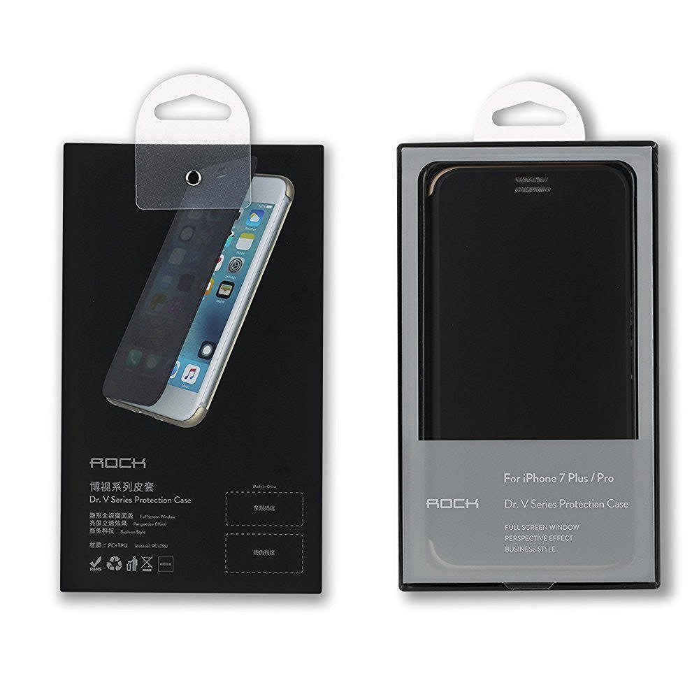e01021282 Original ROCK Dr.V Flip Case Cover For Apple iPhone 7 Plus Smart View Touch  Sensible Hard Case by - Buy Original ROCK Dr.V Flip Case Cover For Apple  iPhone ...
