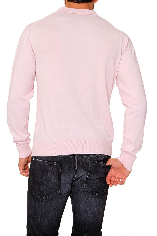 Cortigiani Polo Neck Pullover MARCELLO, Color: Pink