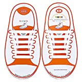 Talent Fashion Kids/adults Multicolor Tieless Elastic Silicone No Tie Shoelaces Waterproof Rubber Flat Running Shoe Laces For Sneakers Board Shoes Casual Shoes And Boots Kid White | amazon.com