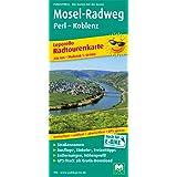 Mosel-Radweg, Perl - Koblenz: Leporello Radtourenkarte mit Ausflugszielen, Einkehr- & Freizeittipps, wetterfest, reißfest, abwischbar, GPS-genau. 1:50000 (Leporello Radtourenkarte / LEP-RK)