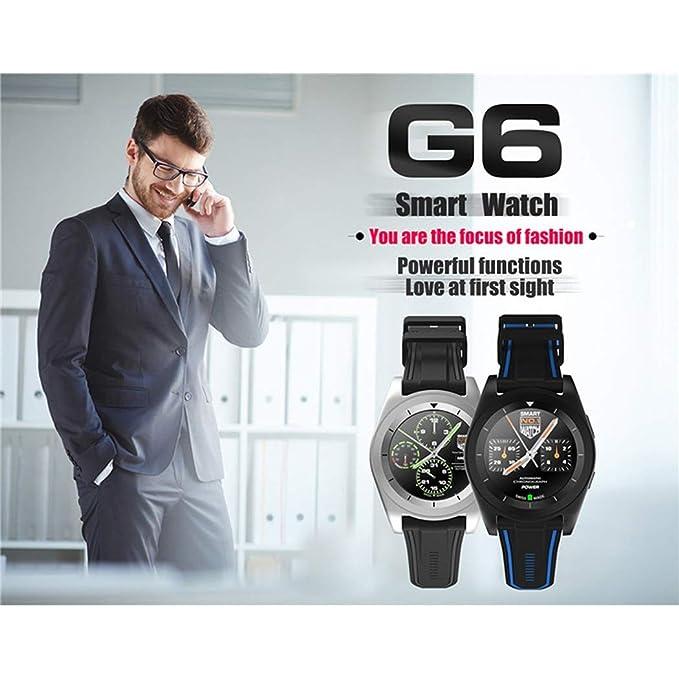 Amazon.com: YWYU Fashion Smartwatch for Android iOS ...