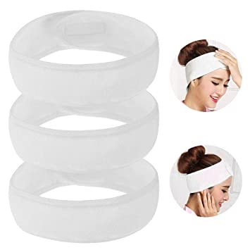 Haarband Bowknot Stirnband Haarreif Yoga Gym Turban Kosmetik Spa Make Up Waschen
