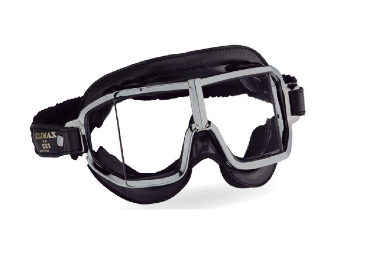 7fe31792394e78 Amazon.fr   Lunettes de moto Climax 521 pour porteurs de lunettes Lunettes  rétro de protection Sur-lunettes