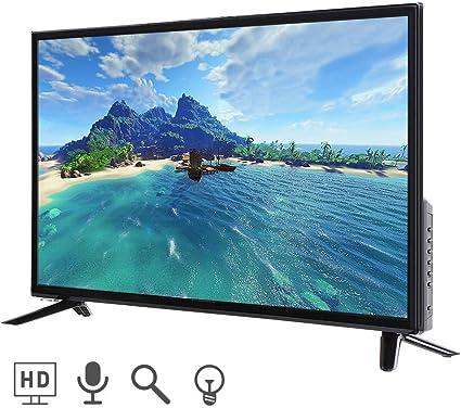Mavis Laven Televisor LCD Inteligente Ultra HD de 32 Pulgadas, televisor Inteligente Multifuncional Edición en línea 2K Televison 220V Negro(UE): Amazon.es: Electrónica