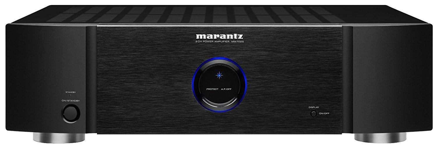 Marantz MM7025 Stereo Power Amplifier (Black) by Marantz