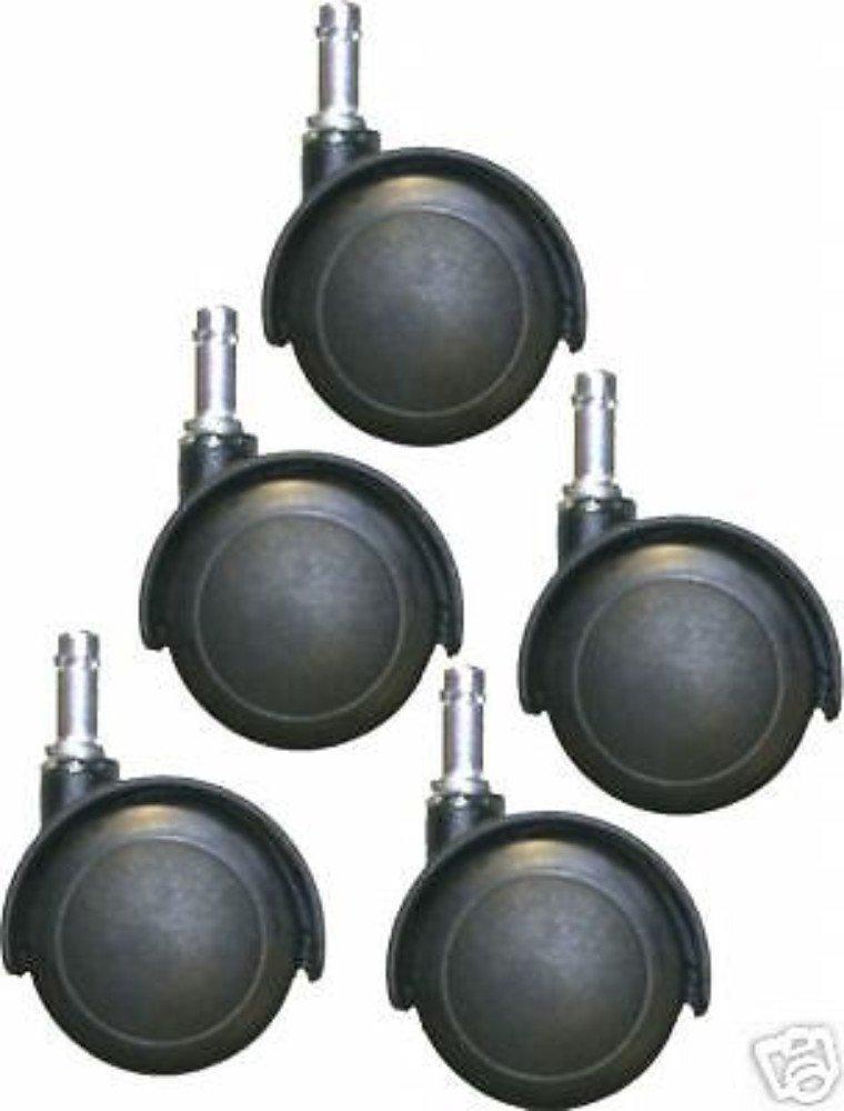 16 CHROMCRAFT KITCHEN DINING ROOM CHAIR LAMINATE WOOD FLOOR CASTER #CS-50
