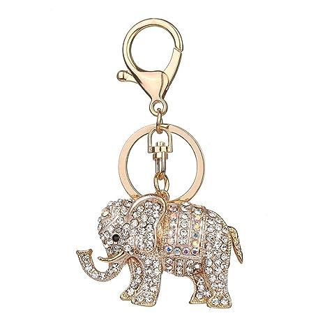 ladaidra llavero elefante Animal Cute encanto elegante moda ...