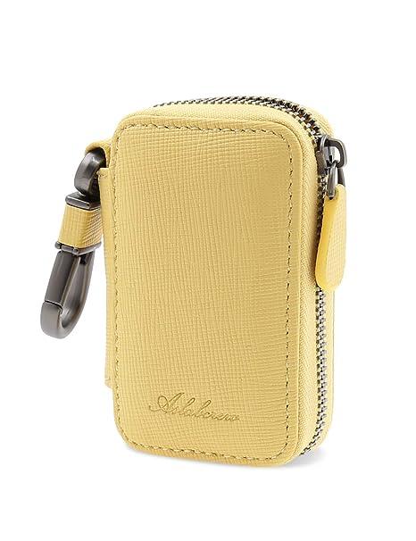 Amazon.com: AslabCrew - Funda para llave de coche de piel ...