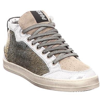 P448 Femme Baskets Hautes High Sneaker A8LOVEC Multicolour