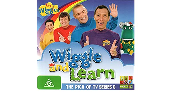 Amazon com: NEW Wiggles: Wiggle & Learn: The P (DVD): Movies