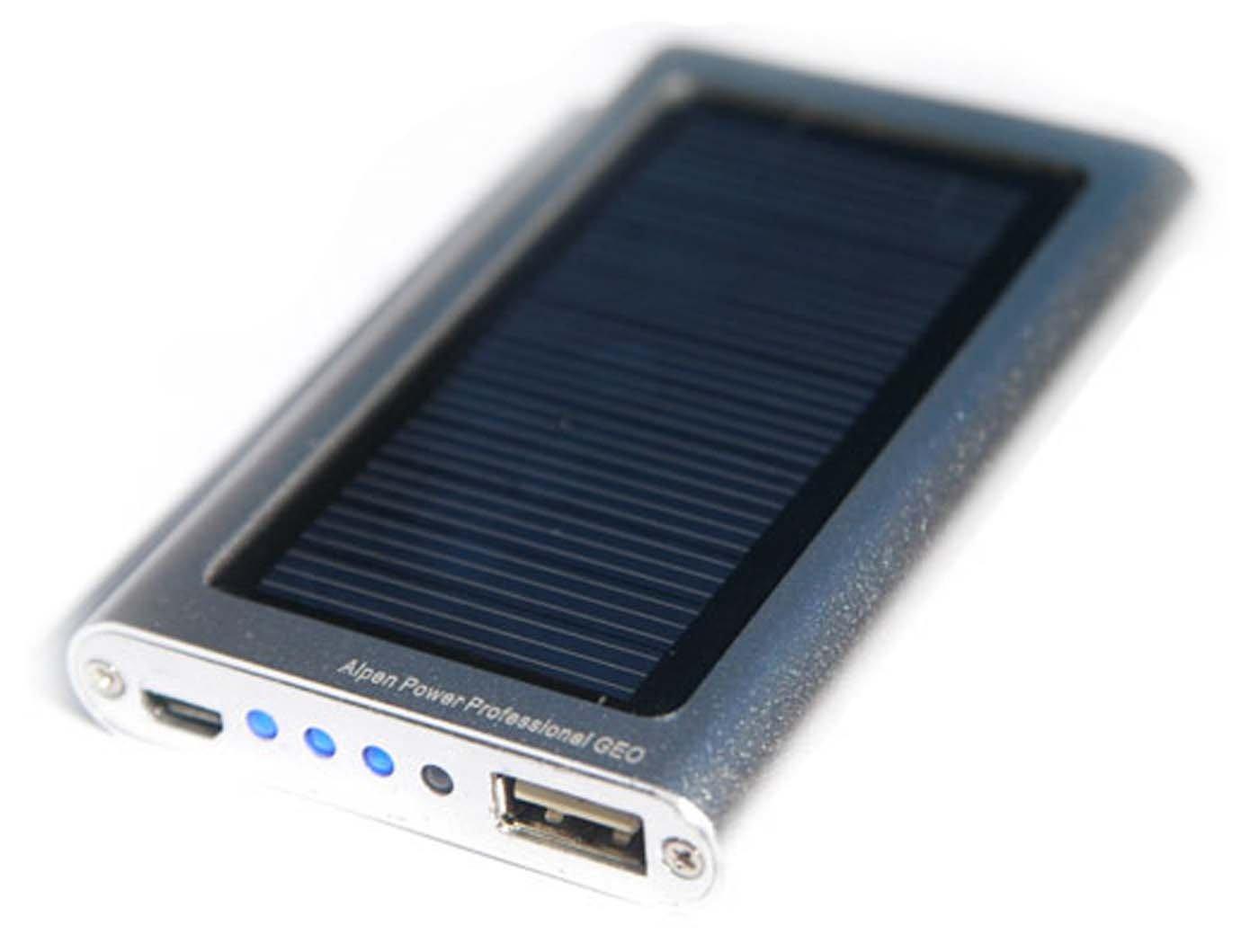 Alpen de profesional GEO - cargador Solar al aire libre para ...