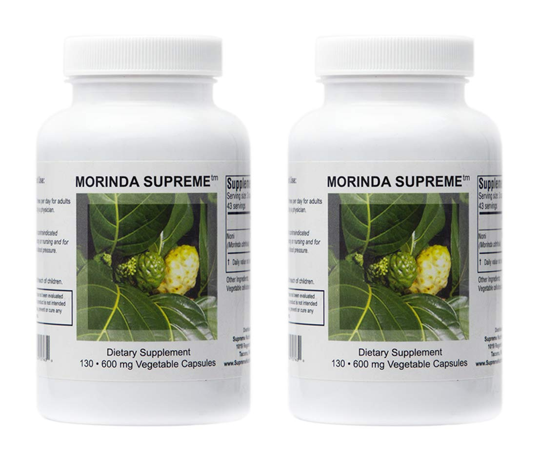 Supreme Nutrition Morinda Supreme Dual Pack