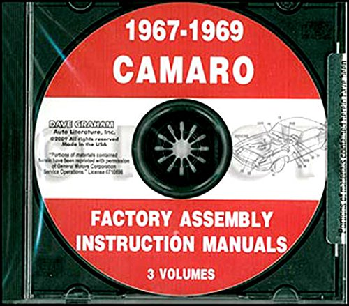 - FULLY ILLUSTRATED 1967 1968 1969 CHEVY CAMARO FACTORY ASSEMBLY INSTRUCTION MANUAL CD. INCLUDES: RS, SS and Z/28. CHEVROLET 67 68 69