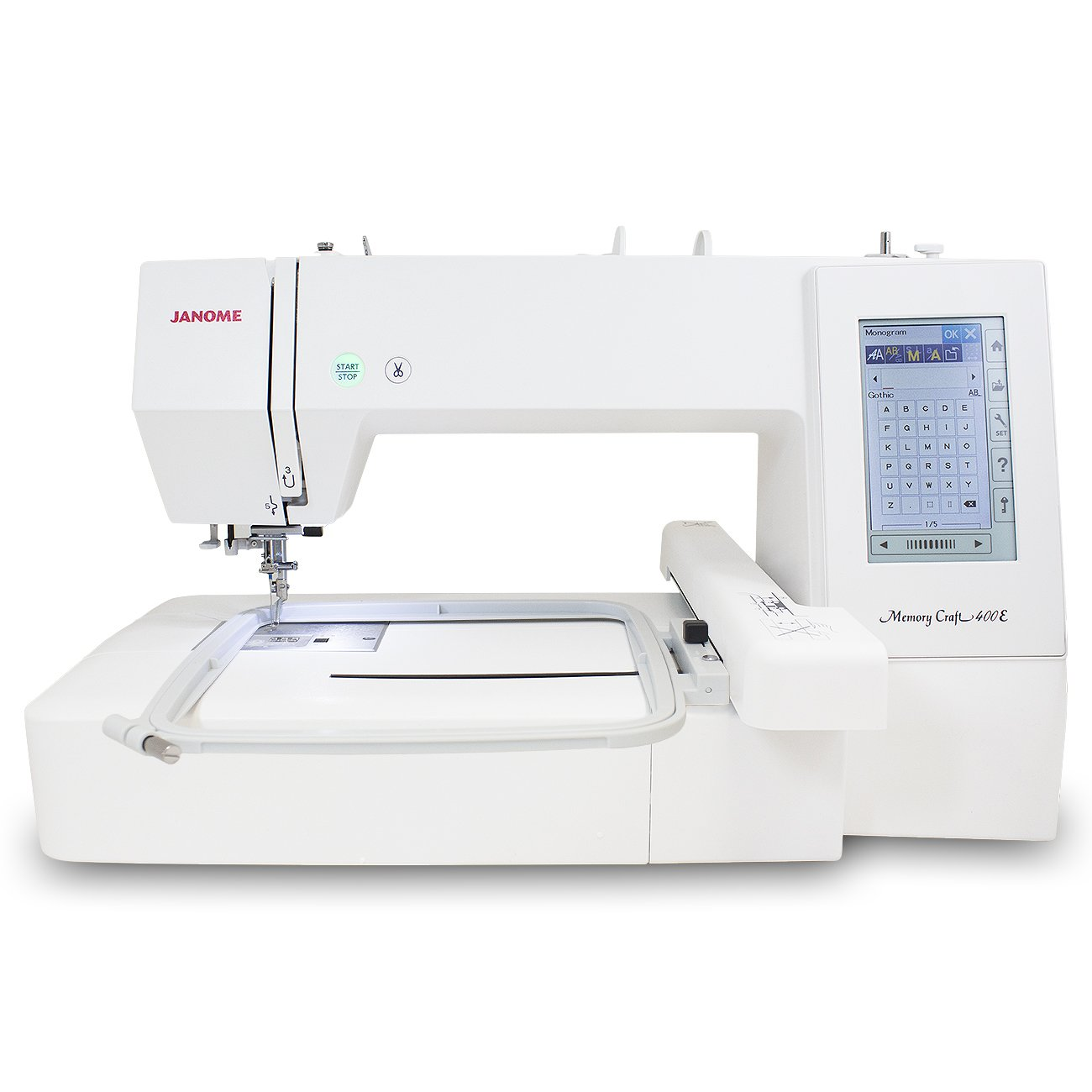 Janome Memory Craft 400E Embroidery Machine MC400E