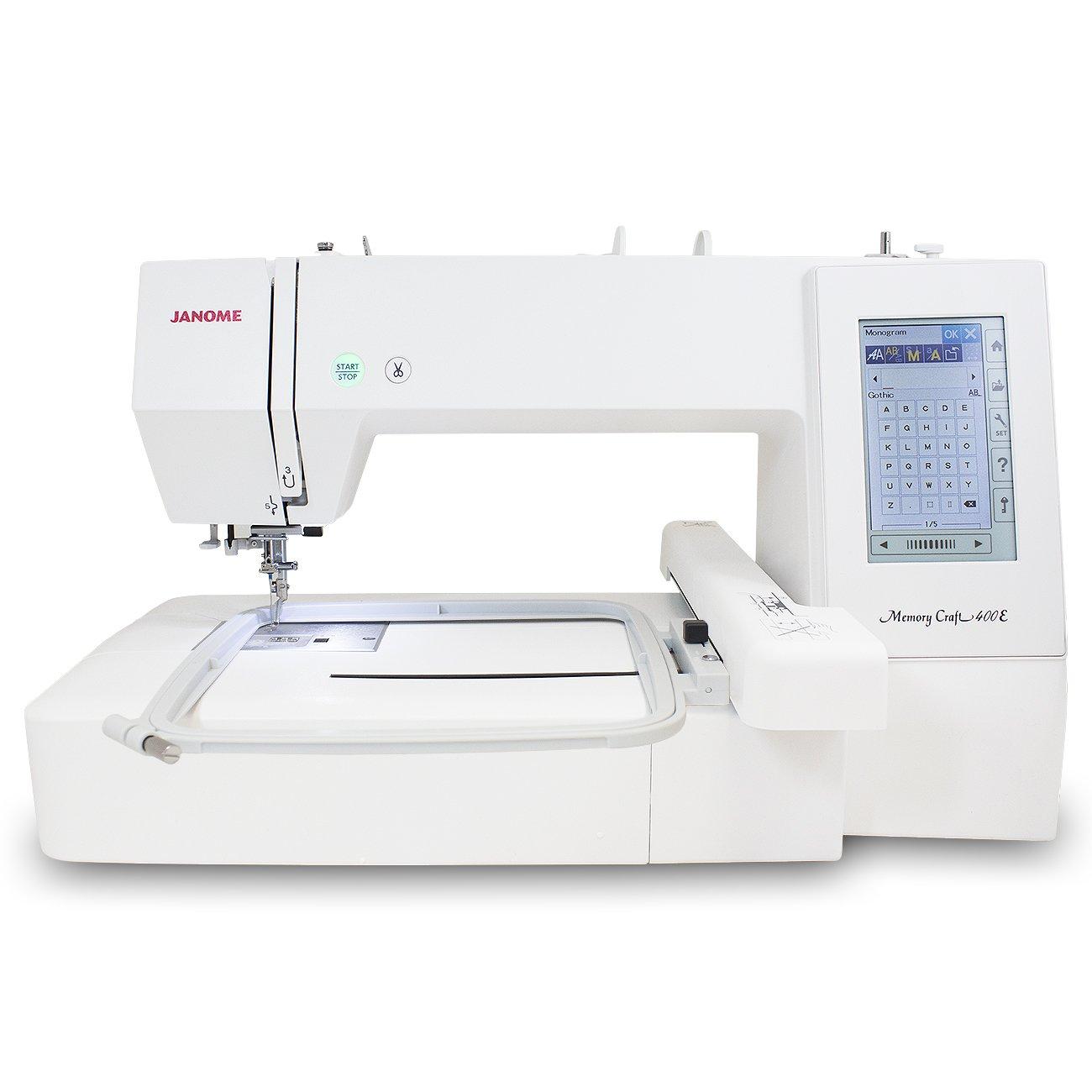 Janome Memory Craft 400E Embroidery Machine MC400E