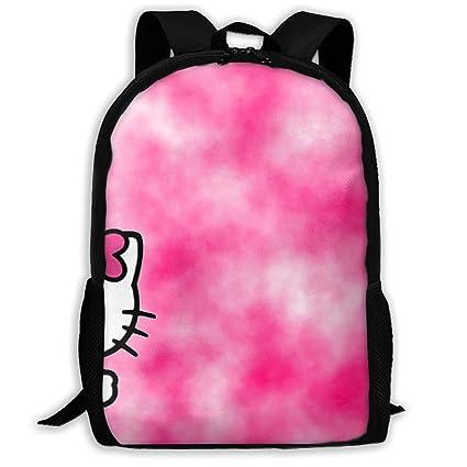 7da6b5015347 Amazon.com: LIUYAN Custom Shading Hello Kitty Casual Backpack School ...