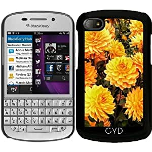 Funda para Blackberry BB Q10 - Dalia Amarilla by Helsch1957