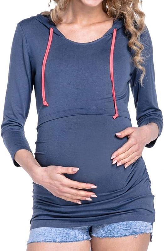 Ropa De Maternidad Señoras De Maternidad De Enfermería Mangas ...