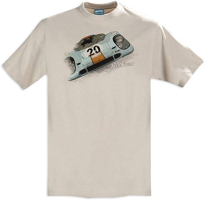 RetroClassic 1970 Porsche 917 - Camiseta para hombre: Amazon.es ...