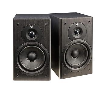 Mordaunt Short M10 Compact Bookshelf Speakers Black Amazon Co Uk