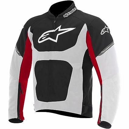 Amazon.com: Alpinestars Viper Air Jacket (XXXX-LARGE) (BLACK/WHITE/RED): Automotive