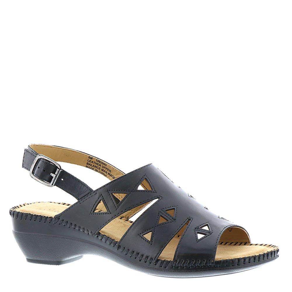 Auditions Megan Women's Sandal B078XL3XG4 11 2A(N) US|Black