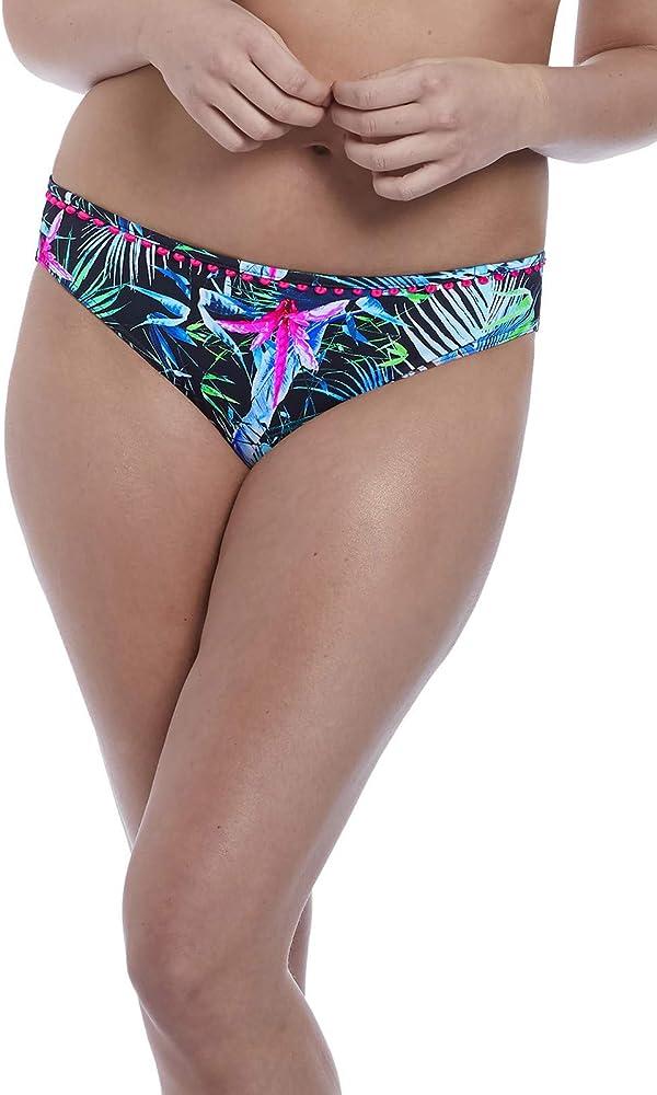 Freya Jungle Flower Underwire Plunge Bikini Swim Top AS5842
