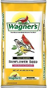 Wagner's 40 LB Four Season Sunflower Wild Bird Food 2 Pack