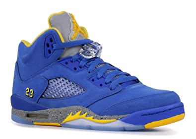 f2edaa9669bc Air Jordan Retro 5 quot Laney JSP Varsity Royal Varsity Maize (GS) (
