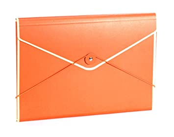 Amazon.com : Semikolon A4/Letter Size Envelope Folder, Orange ...