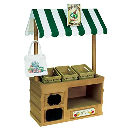amazon com interchangeable farm stand with sign set chalk crates
