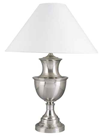Ore International 6235sn 28 Inch 150 Watt Metal Table Lamp Satin