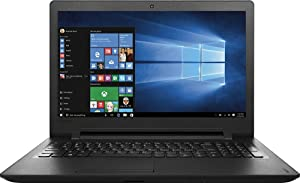 Lenovo 110-15IBR 80T7000HUS - 15.6 HD - Intel Celeron N3060 - 4GB - 500GB HDD - Black