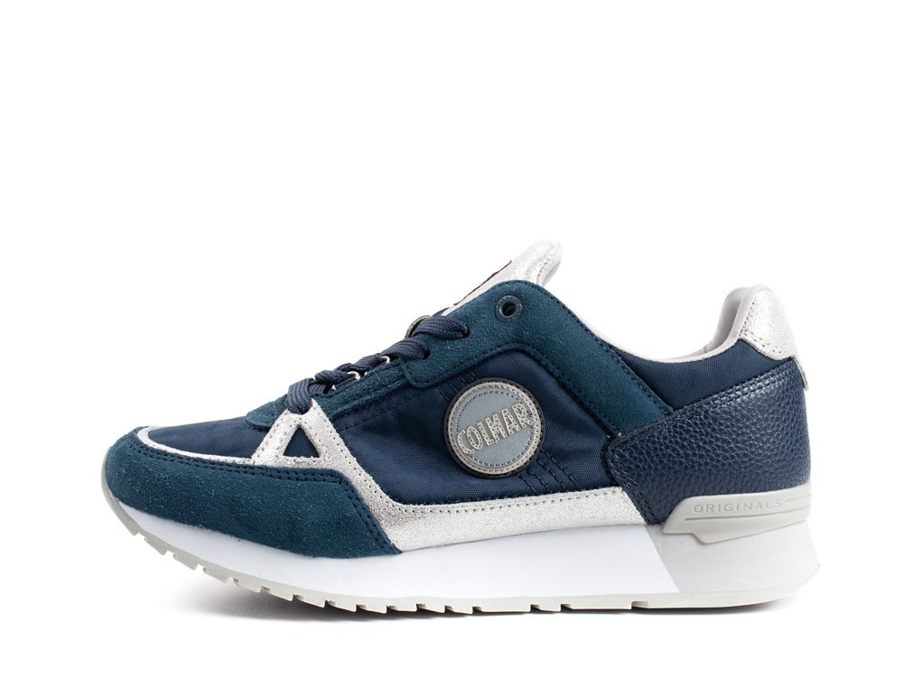 Colmar Travis Supreme Colors 074 Grey Navy 36 EU|Blu/Argento
