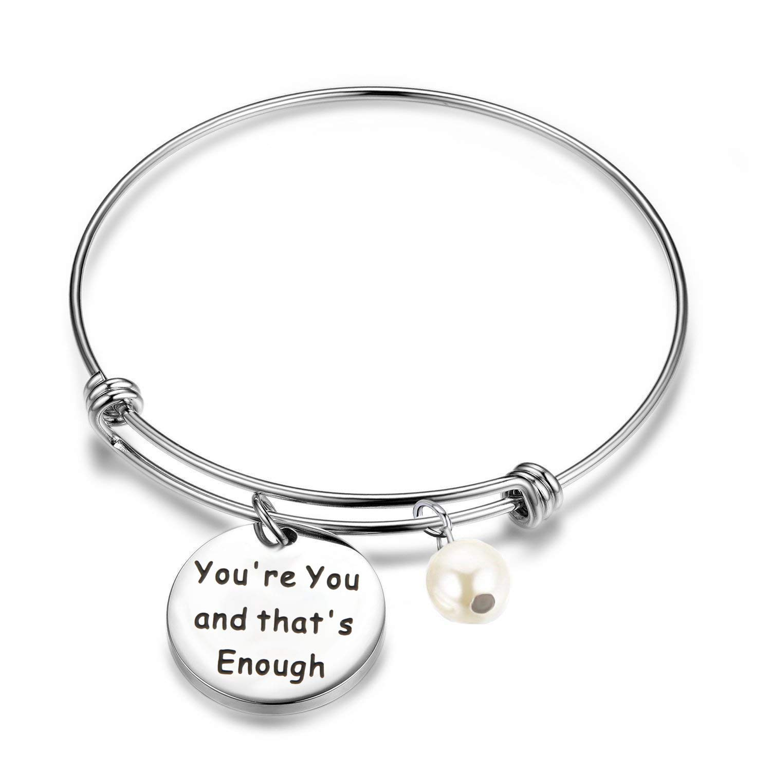 You're You and That's Enough Dear Evan Hansen Inspired Adjustable Bracelet Theater Gift Actor Gift AKTAP