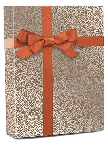 30'' X 100' Gold Stingray Metallic Gift Wrap by Paper Mart