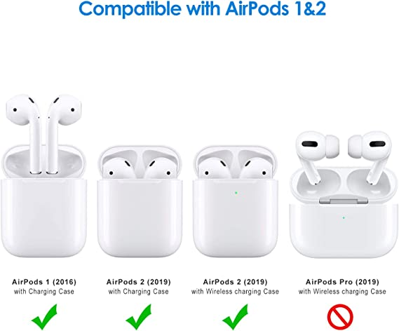 Amazon Com Jetech Case For Apple Airpods 1st 2nd Generation