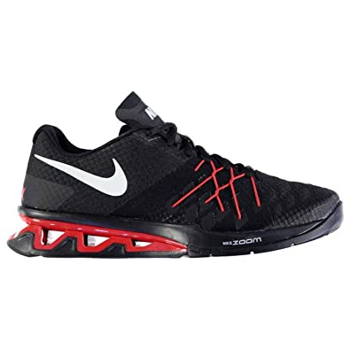 Nike Reax Light Speed 2 Black Red Mens Trainers- Size UK 11 04e963076