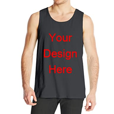 4164d1099668eb AntoniaDay Custom Tshirt Printing Gym Tank Tops Summer Tank Tops Mens  Sleeveless Shirt Men s Sleeveless Tank