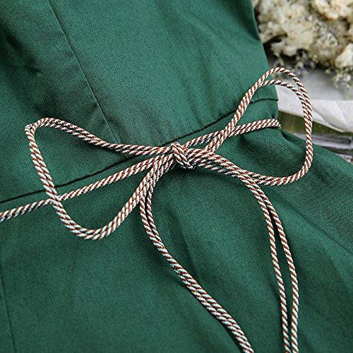 pour Robe Une Robes dans M Robe de MiGMV Femme Robe Green Une Une nxX6qqY0