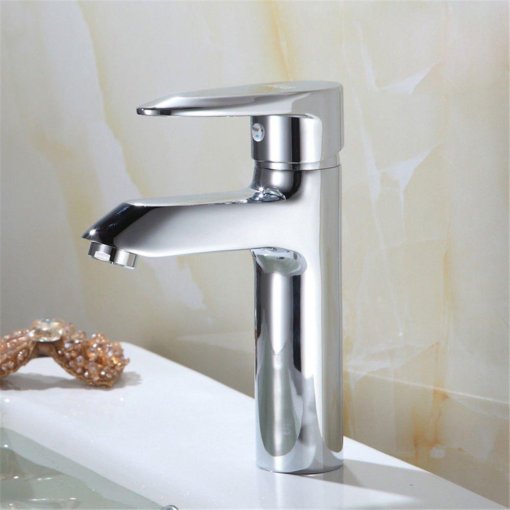 NewBorn Faucet Wasserhähne Warmes und Kaltes Wasser Größe Qualität Einzelne Bohrung voll Kupfer Warmes und Kaltes Bad Wasser Mischbatterie