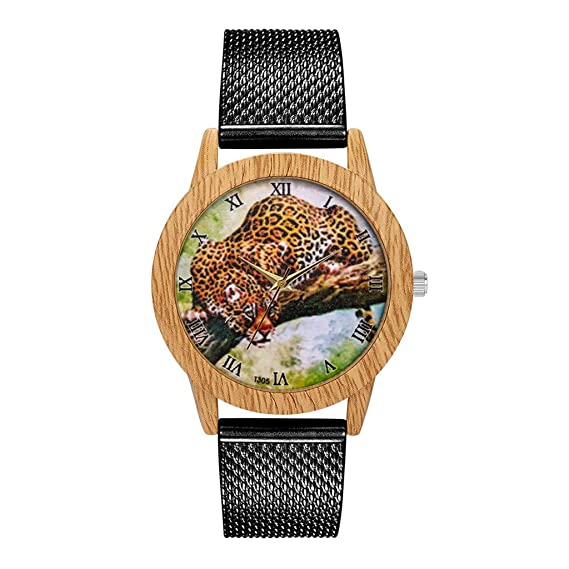 Reloj a Cuarzo analógico,Pwtchenty Moda Reloj de Pulsera Reloj para ...