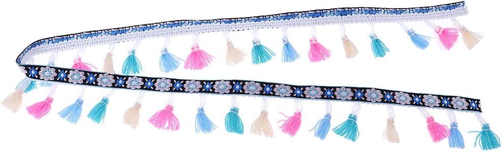 1 Yard Handwerk Perlen Spitzenbesatz Band Nähen Applique für Kostüm DIY
