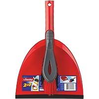 Vileda 141743Kehrset 2-in-1–Temiz Auffegen bir çekme–Ekstra kıllar köşeler için–kolay muhafaza edilir