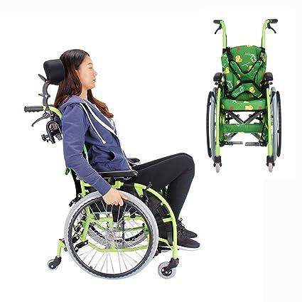Amazon.com: Silla de ruedas YH-LY Premium ultraligera, silla ...