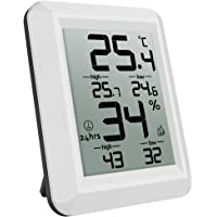 AMIR Hygrometer Thermometer, Digital Indoor Outdoor Humidity Monitor with Temperature Gauge & Big LCD Display, with…