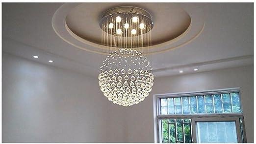 Moderno e minimalista lampadario a chiocciola scala a chiocciola