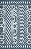 Safavieh Dhurries Collection DHU572A Hand Woven Dark Blue and Ivory Premium Wool Area Rug (4′ x 6′) Review